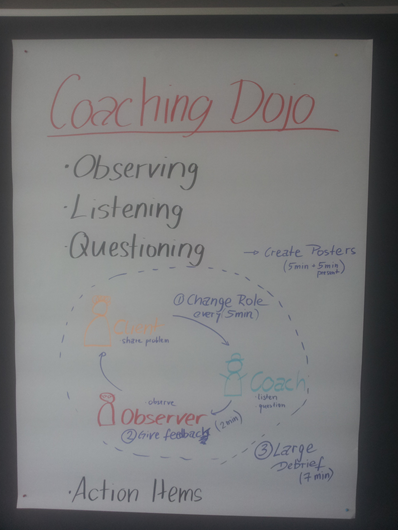 Coaching Dojo Flow