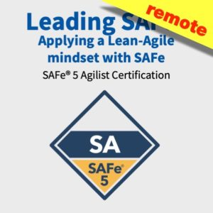 Leading SAFe 5.0 Certification Remote Training