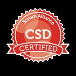 CSD - Certified Scrum Developper