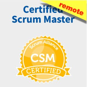 Certified Scrum Master (CSM) Remote